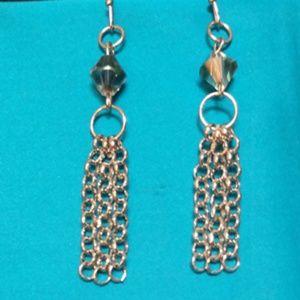 Jewelry - Silver Chain Dangle Earrings